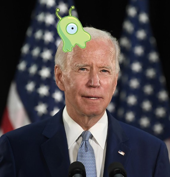 Biden Brain Slug