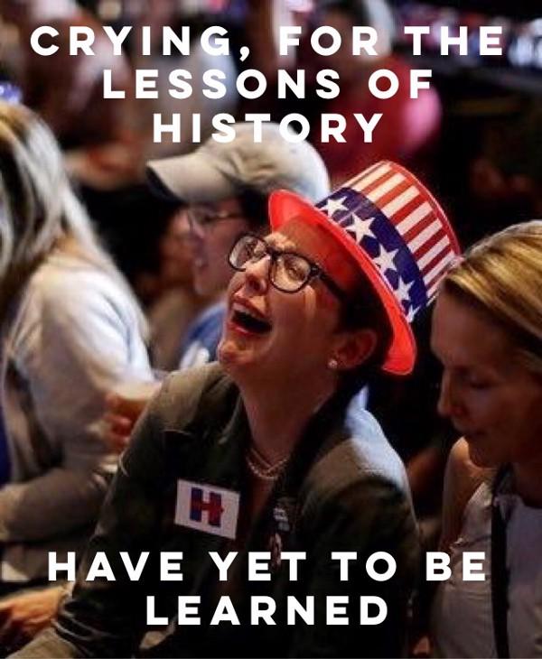 crying democrat